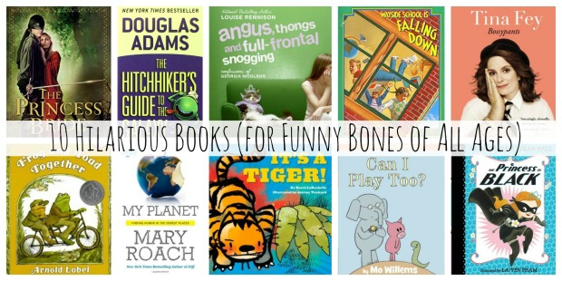 10 Hilarious Books