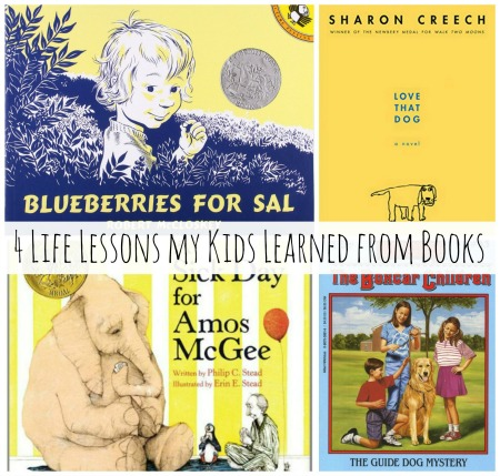 4 Life Lessons My Kids Learned from Books