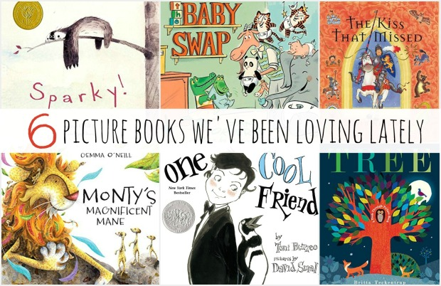 6 picture books
