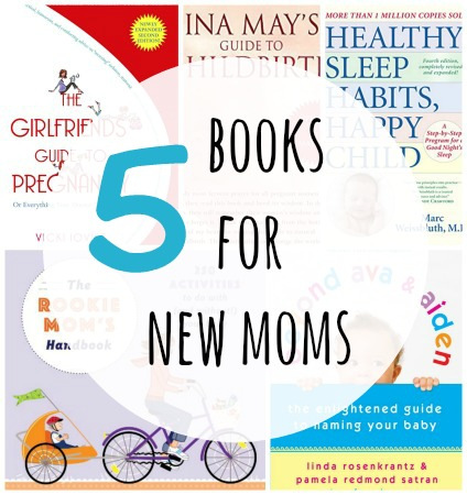 5 books for new moms