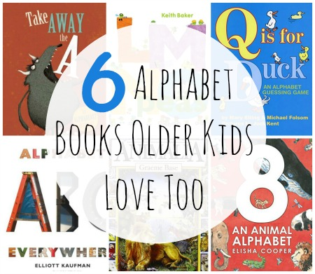 6 alphabet books