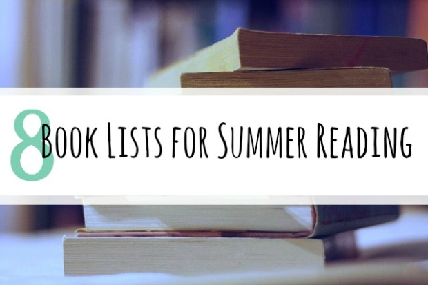 8 book lists for summer reading