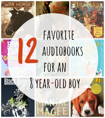 audiobooks for an 8 year old