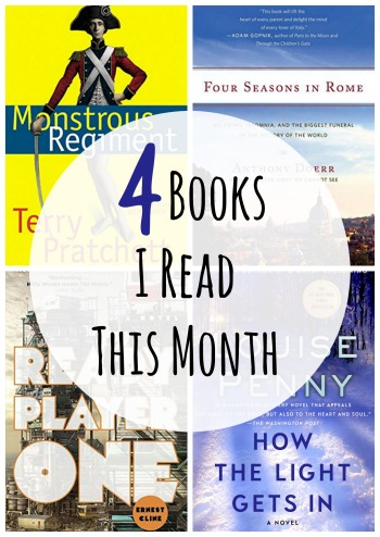 4 books I read this month