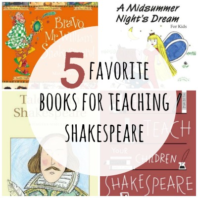 5 books for teaching shakespeare